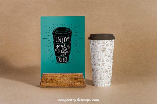 Coffee Menu Mockup