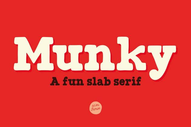 Munky Font