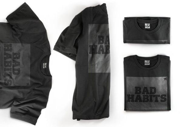Black T-Shirt Presentation Mockup