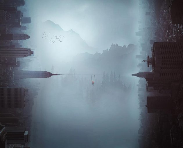 How to Create a Surreal City Landscape Photo Manipulation With Adobe Photoshop