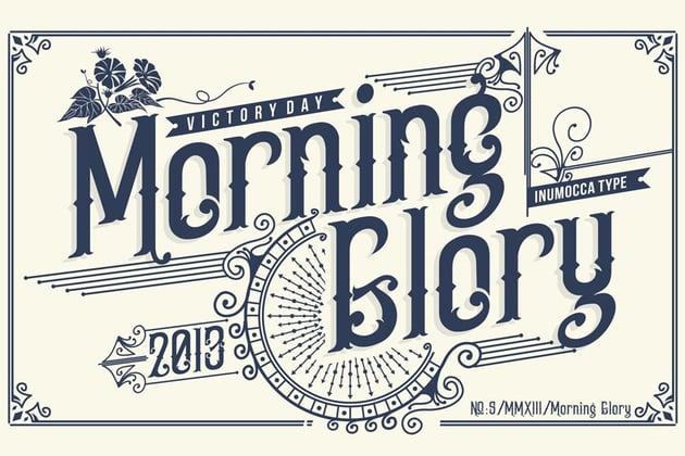 Morning Glory Font