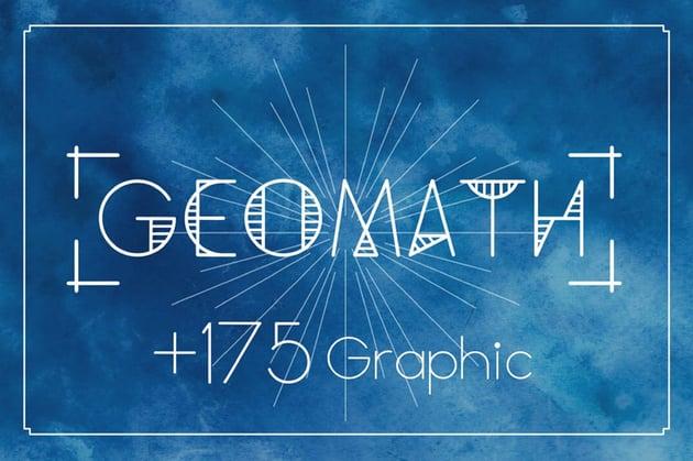 Geomath Font