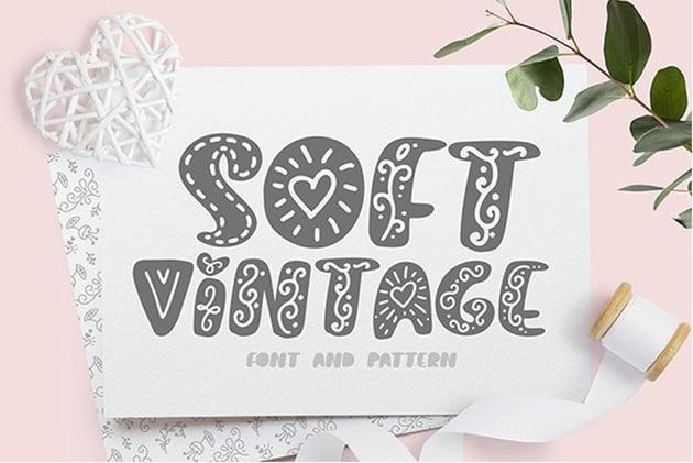 Soft Vintage Scandinavian Decor Font