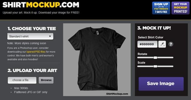 Shirt Mockup T-shirt Templates