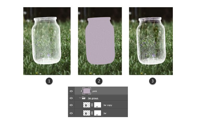 Color correct the jar