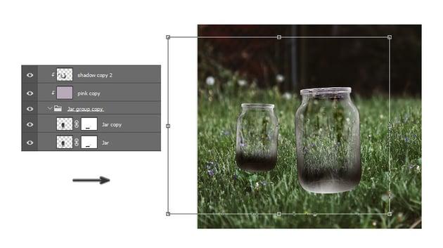 Duplicate the glass jar
