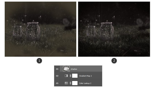 Create a vignette effect