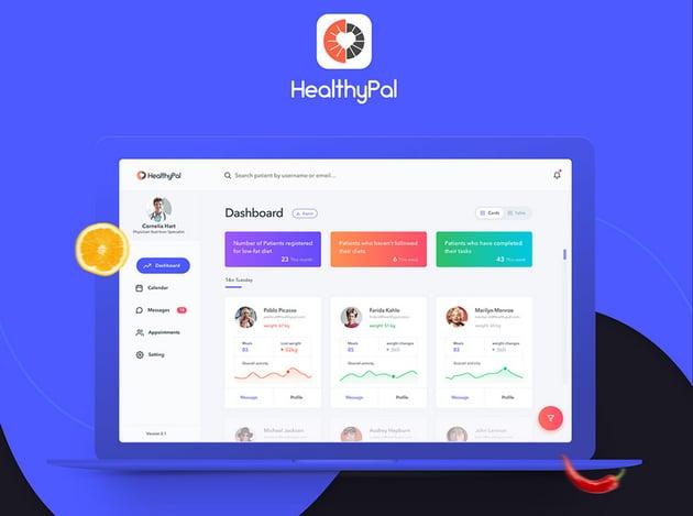 HealthyPal Dashboard