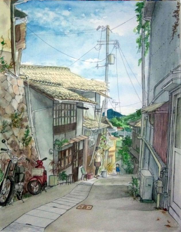 Landscapes in Japan