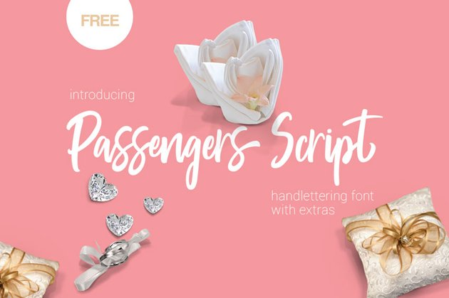 Passengers Script Font