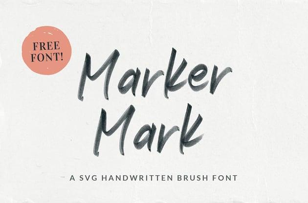 Marker Mark Handwritten Font
