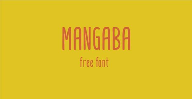 Mangaba Font
