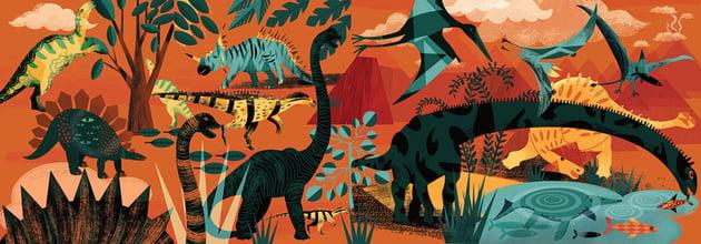 Dinosaur Landscape