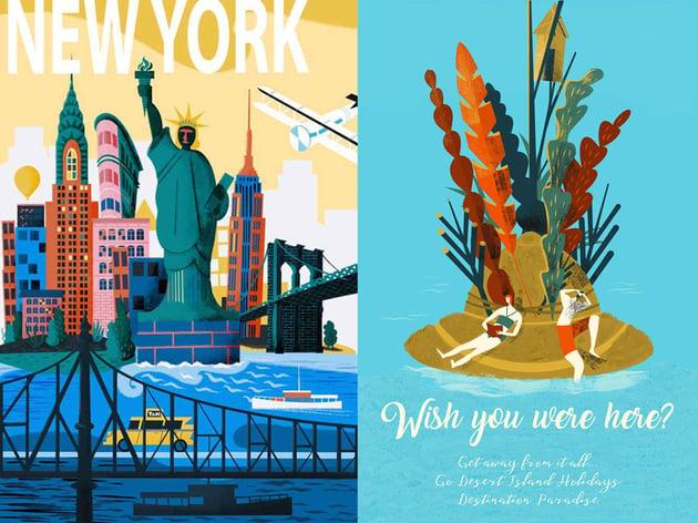 Explore Travel Posters