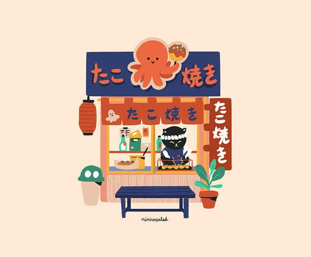 Japan Series - Illustrations