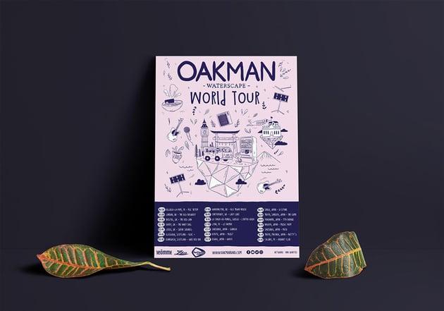 Visual Communication for OAKMAN