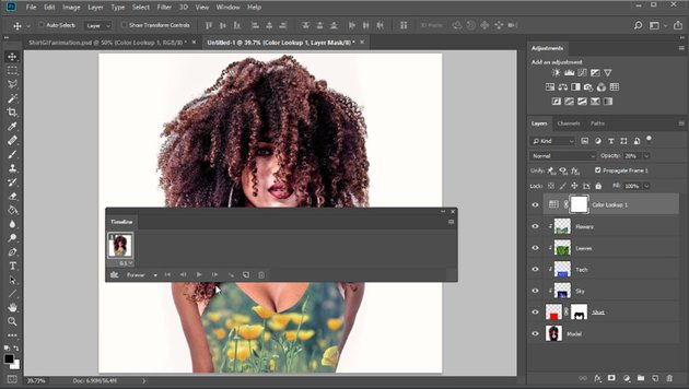 Create a gif animation in photoshop