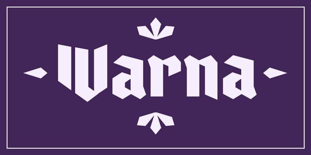 Varna Font