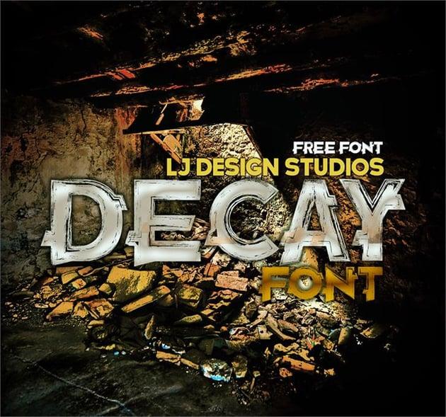 Decay Font