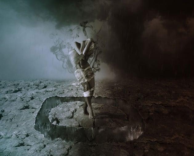 How to Create a Dark Fallen Angel Scene With Adobe Photoshop