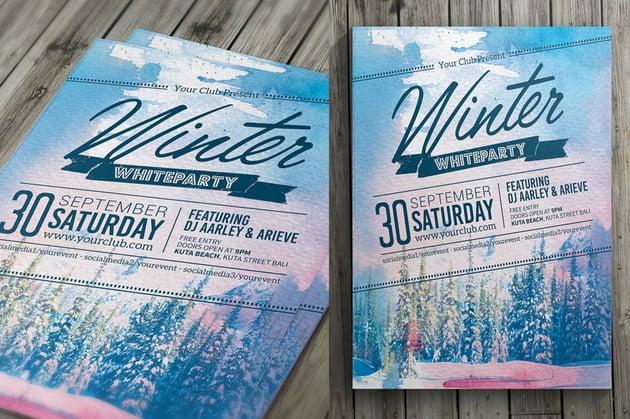Winter Event Flyer