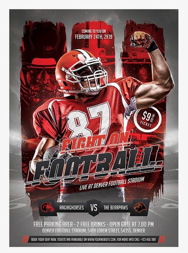 Football Event Flyer