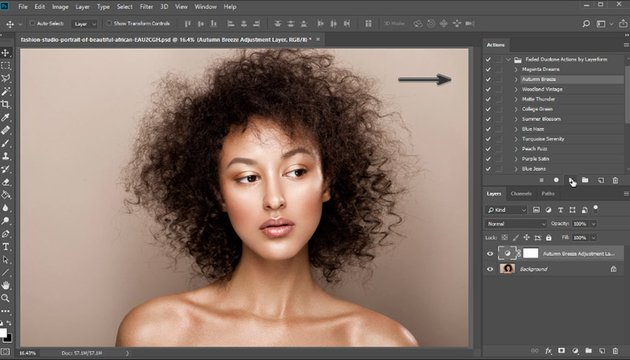 How to Play Photoshop actions