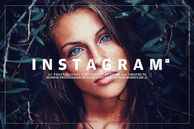 Instagram - Photoshop Actions