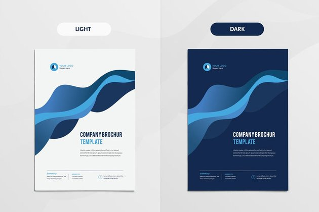Clean  Modern Multipurpose Brochure
