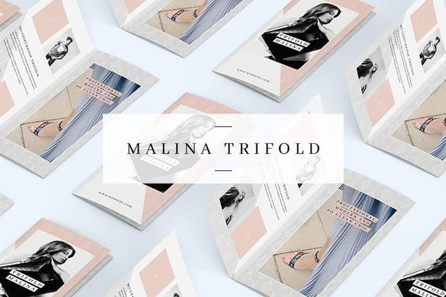 Malina Trifold Brochure