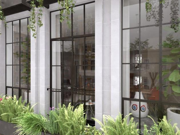 NY Flower Box Apartment