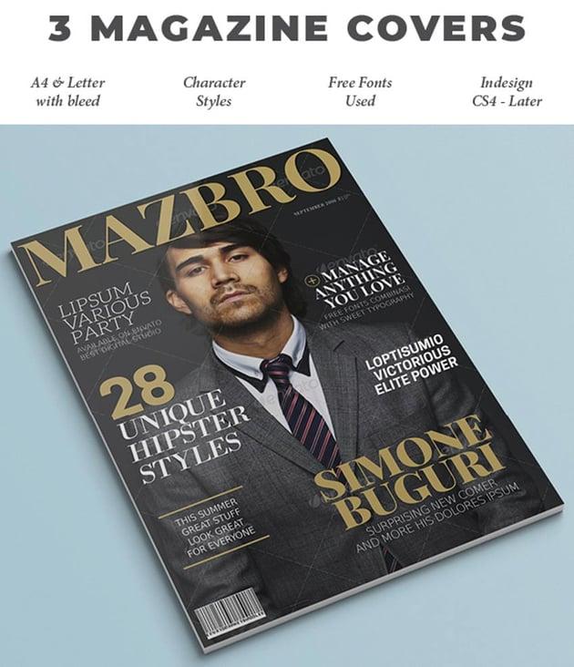 3 Magazine Covers