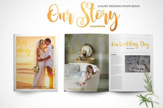 Luxury Wedding Photo Book