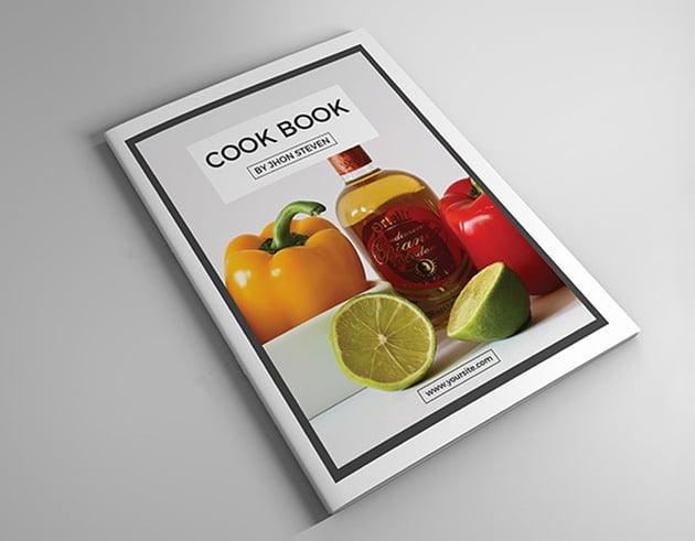 InDesign Cook Book Template
