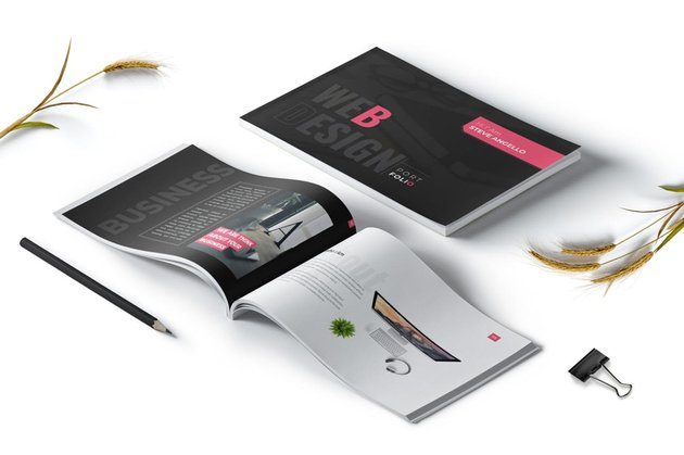 Web Designer Portfolio Brochure