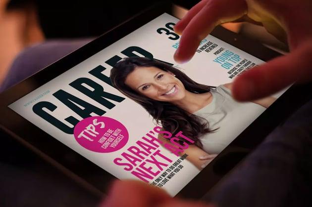iPad Magazine Template