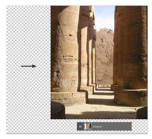Add the first columns