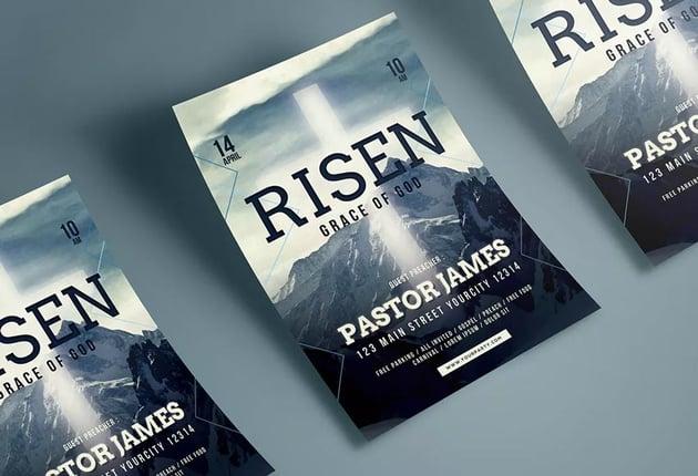 Easter Church Flyer
