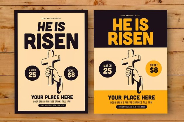 Easter Day Flyer