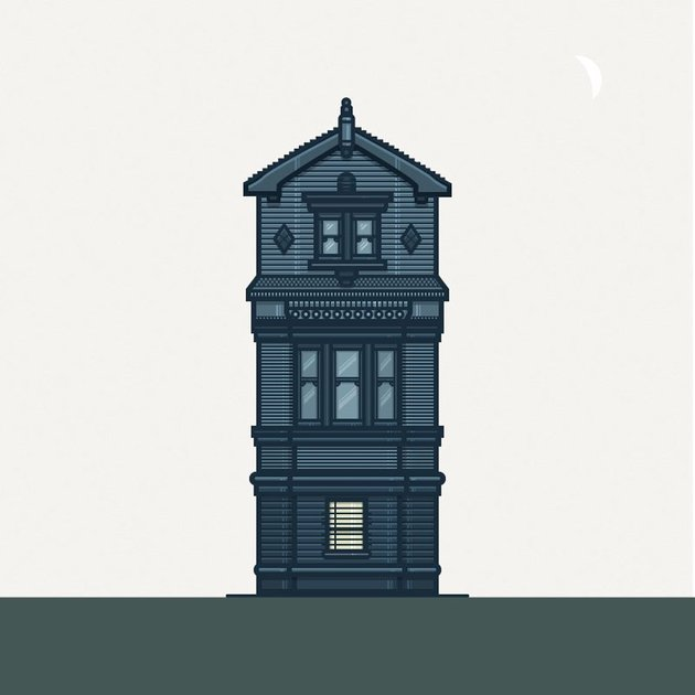 How to Create a Cute Illustration of the Janus House Using Adobe Illustrator