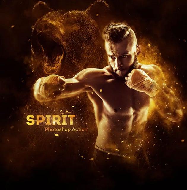 Spirit Photoshop Action