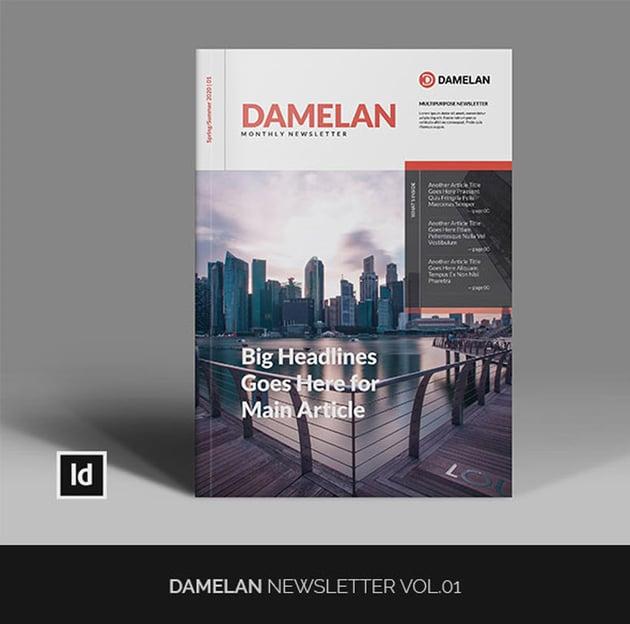 Damelan Newsletter Vol01