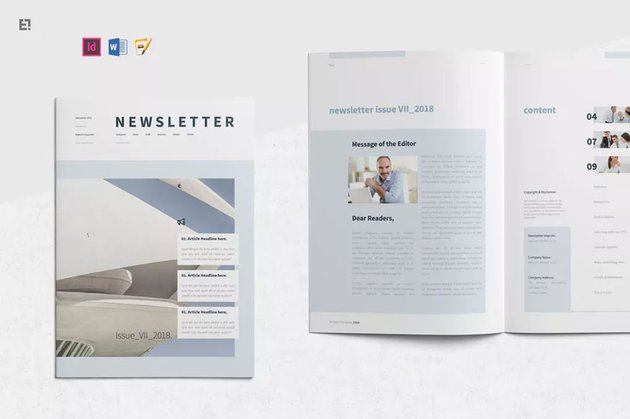 newsletter design templates