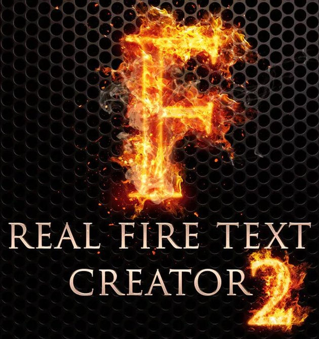 Real Fire Text Creator
