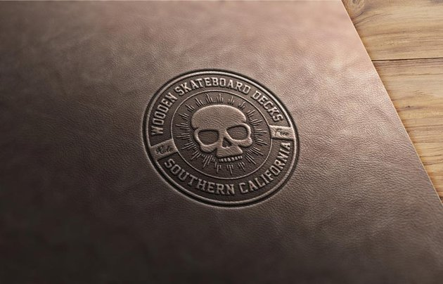 How to Create a Leather Stamp Logo Mockup in Adobe Photoshop