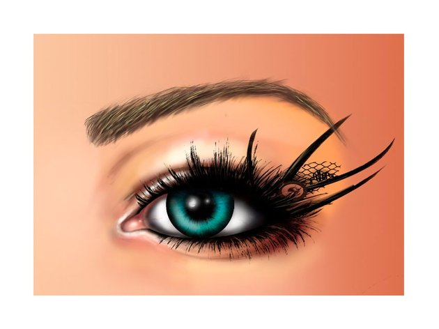 How to Paint Realistic Eyes in Adobe Photoshop
