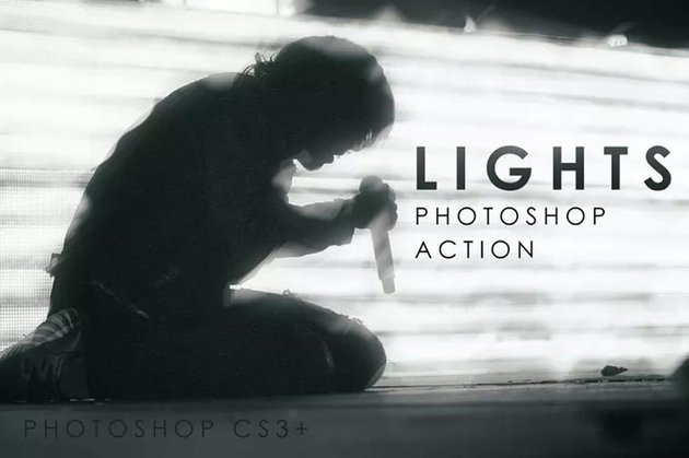 Lights Photoshop Action