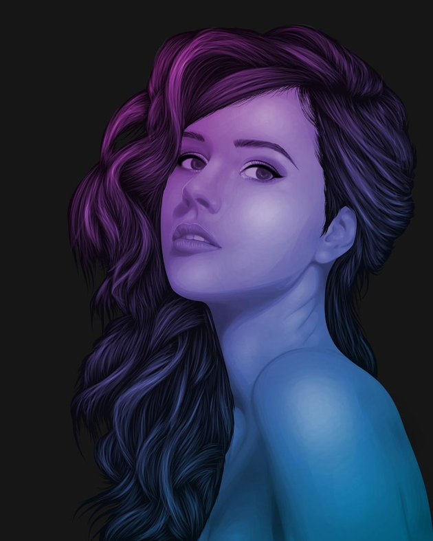 How to Create a Portrait With One Colour in Adobe Illustrator