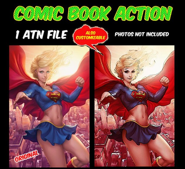 Comic Book Action