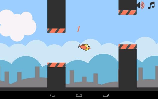 FlappyBot screenshot
